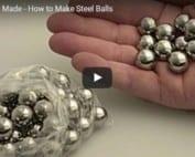 Make steel balls