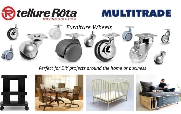 Tellure Rota Furniture Wheels